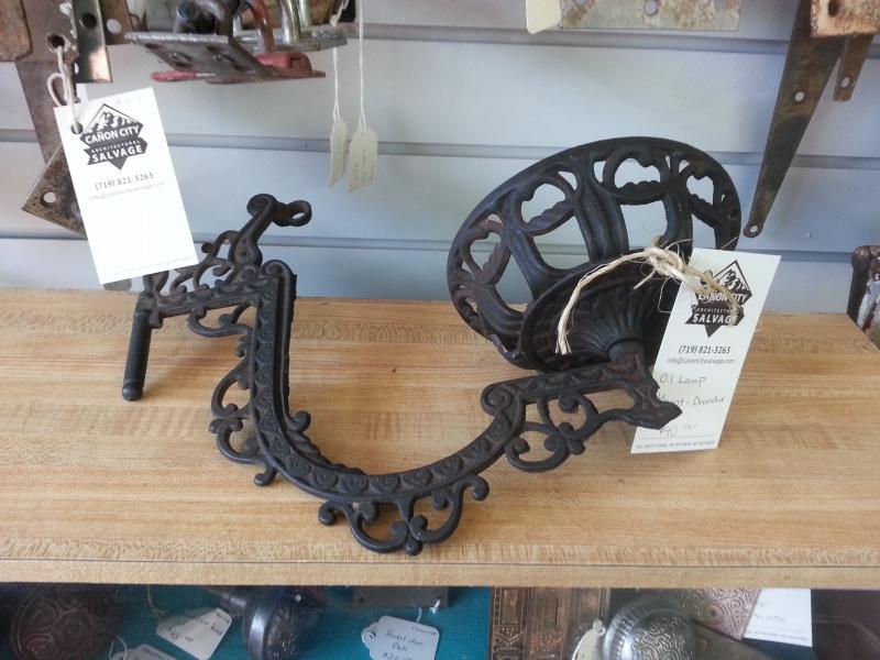 Victorian Oil Lamp Holder